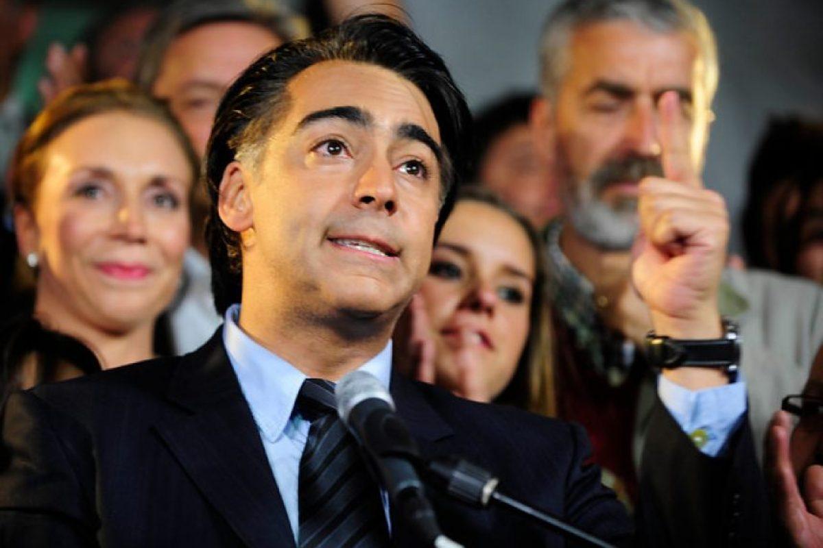 """42-. """"Somos la tercera fuerza política de Chile"""". Marco Enríquez-Ominami. Foto:Agencia Uno. Imagen Por:"""