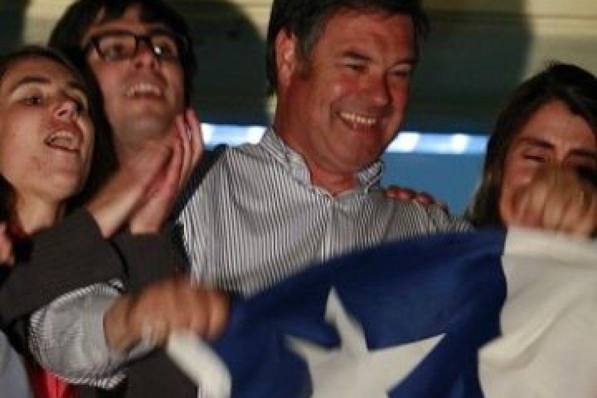 """""""Demostré en la campaña que soy de derecha y ser de derecha no significa sólo proteger a los que tienen más"""". Manuel José Osandón. Foto:Agencia Uno. Imagen Por:"""
