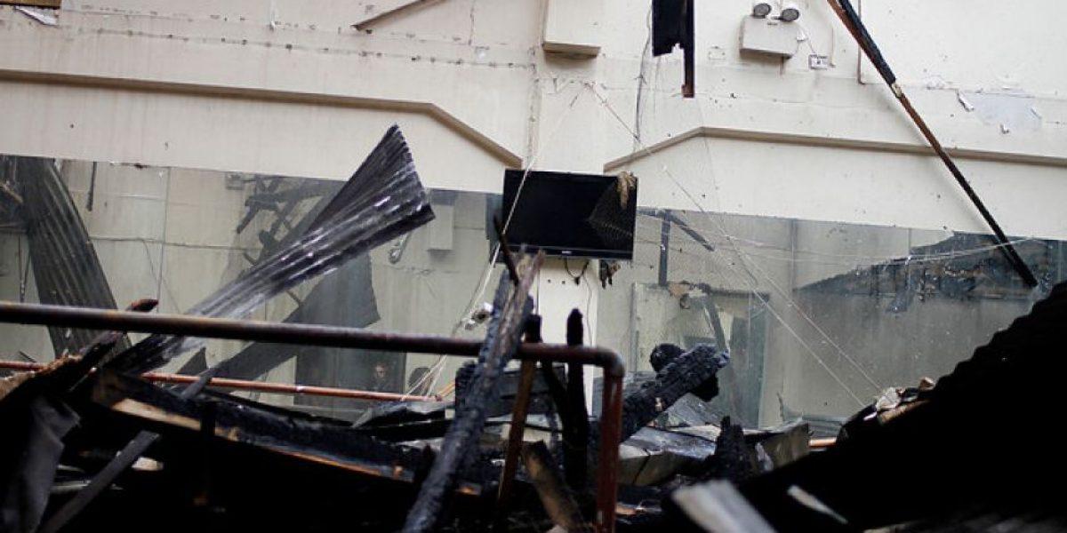 FOTOS: Así luce el Teatro Municipal tras feroz incendio que lo afectó