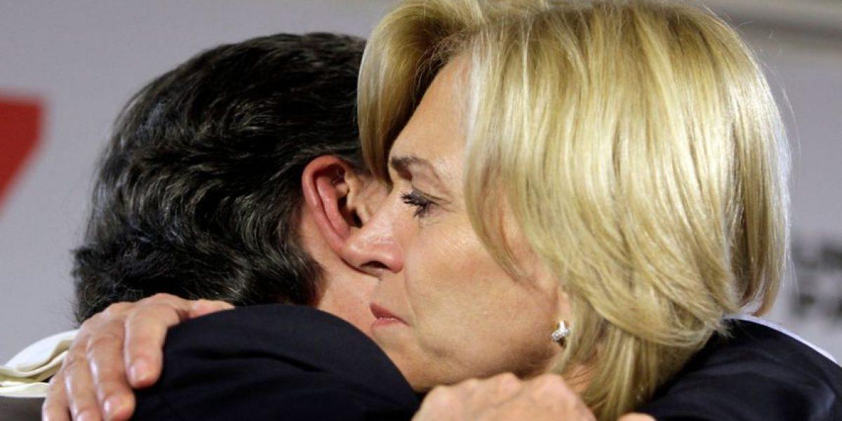 Entre lágrimas Matthei despide a Lavín y presenta nuevo
