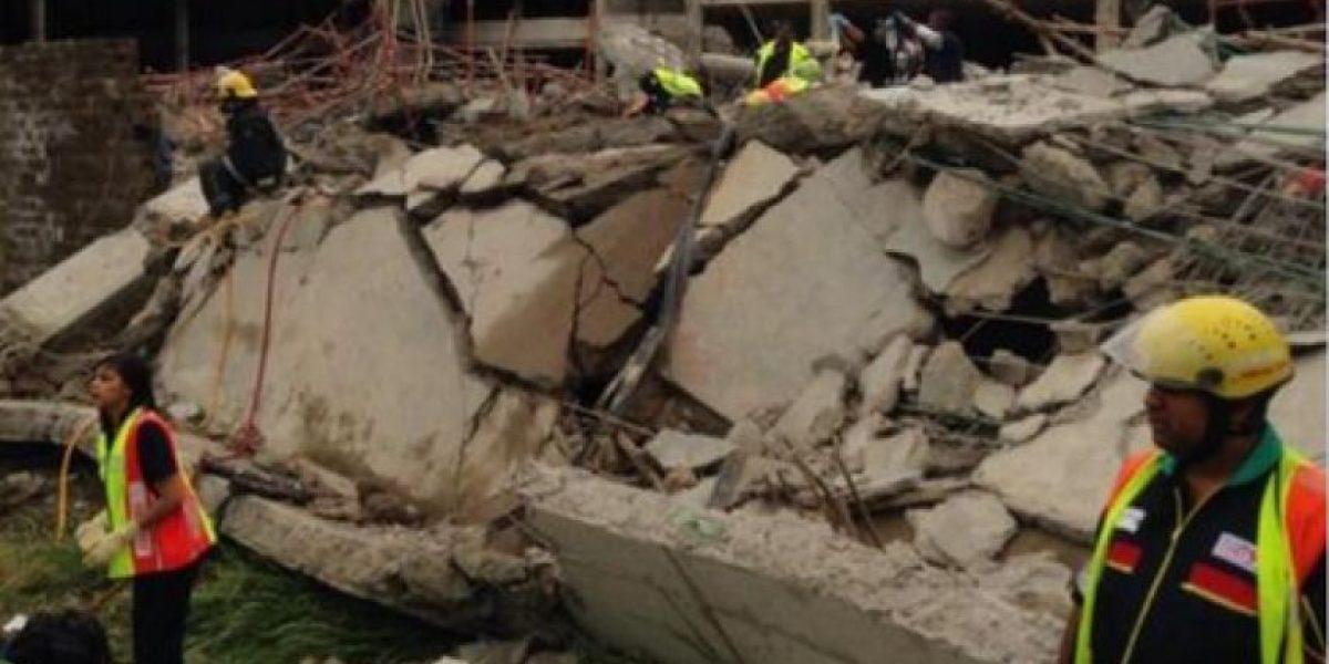 Imágenes tras el derrumbe de un mall en Sudáfrica que dejó varias personas atrapadas