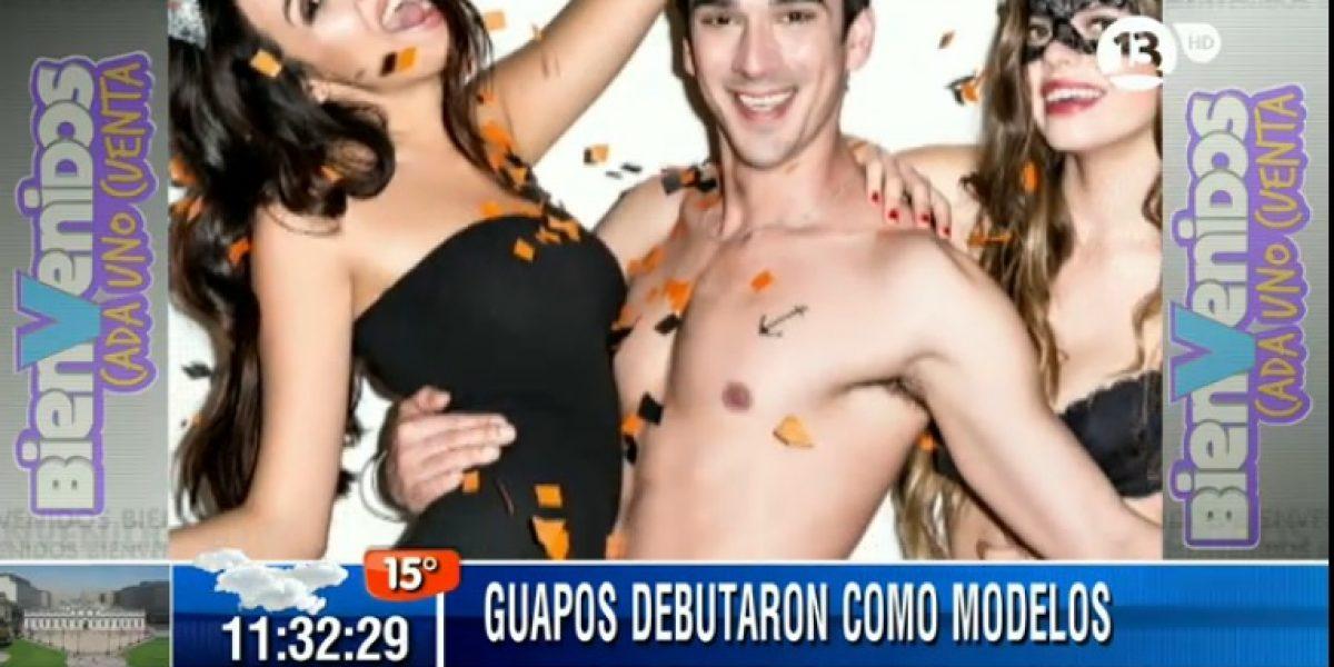 Guapos actores debutaron como sensuales modelos de ropa interior