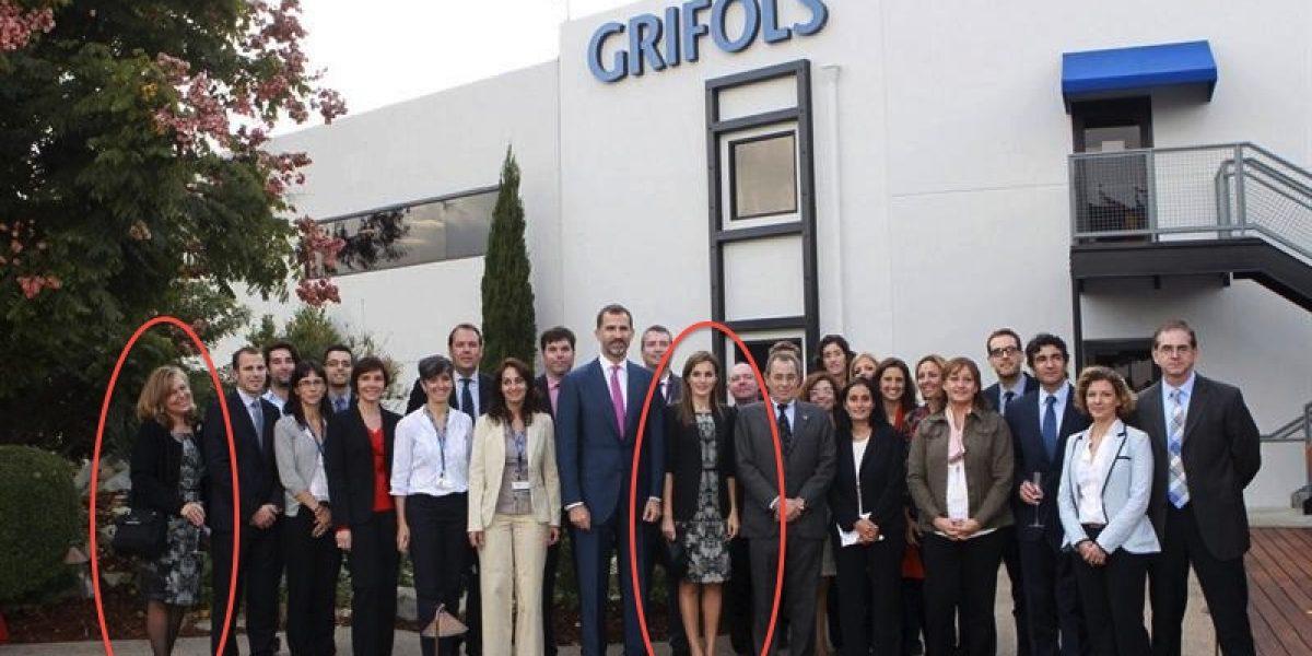 Bochorno real: Princesa Letizia usa el mismo vestido que trabajadora de la empresa que visitaba