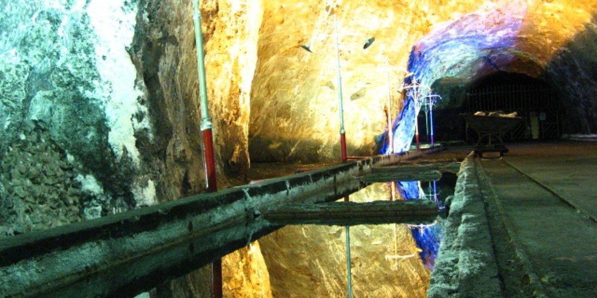 En esta mina colombiana se grabará