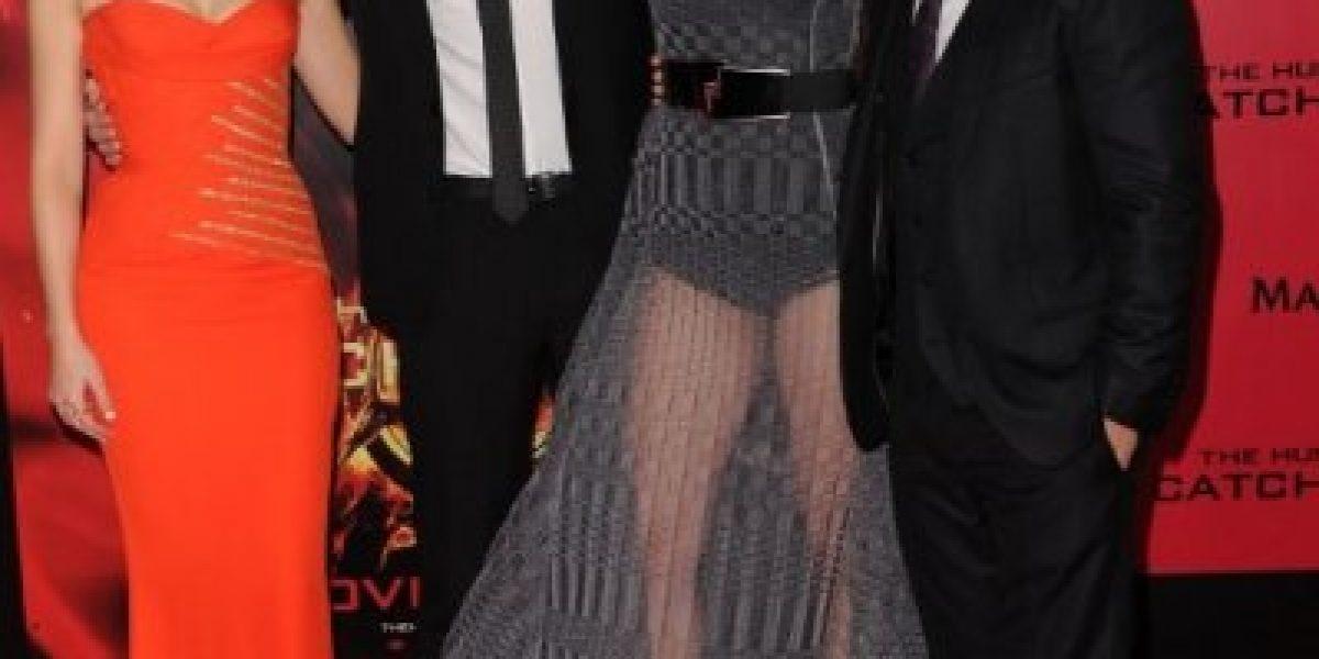 Sensacional look de Jennifer Lawrence acapara todas las miradas