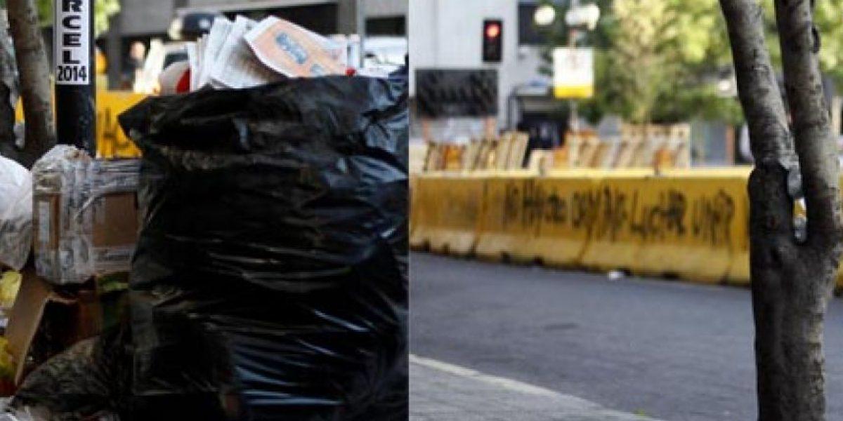 Antes y después: Retiran basura en Santiago tras fin del paro
