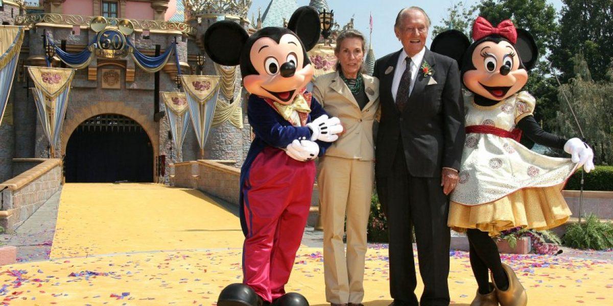 Fallece hija mayor de Walt Disney: Diane Disney Miller
