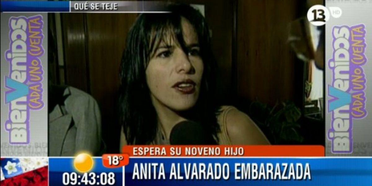 Familia de Anita Alvarado se enteró por la televisión que espera su noveno hijo