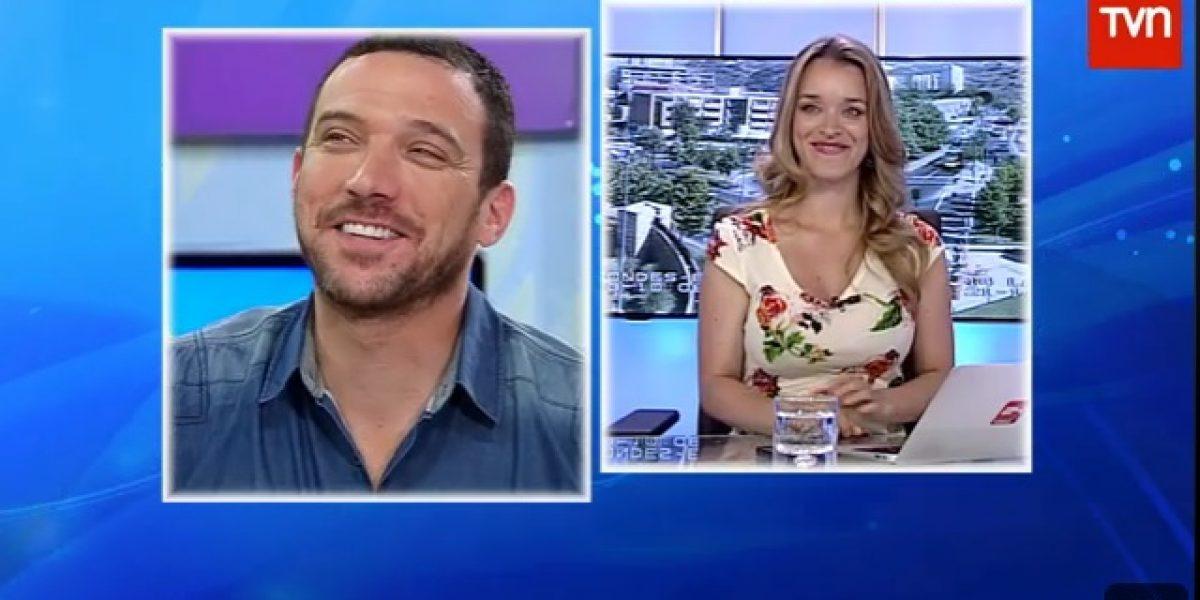Conductora de noticias deja en evidencia a Julián Elfenbein por su manera de conducir