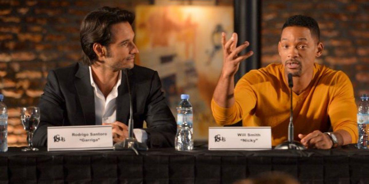 Will Smith entusiasmado en Buenos Aires donde filma