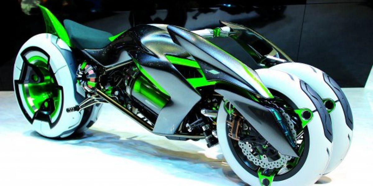 La motocicleta de tres ruedas que deslumbó en el Salón de Tokio
