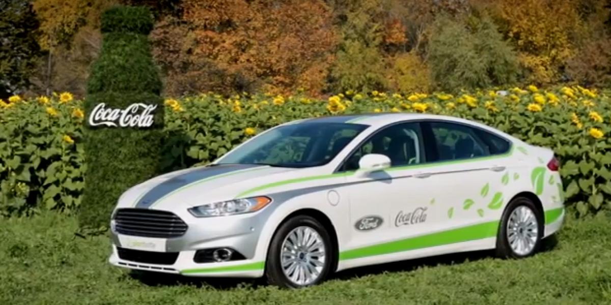 El vehículo de Ford que usa la tecnología de Coca Cola