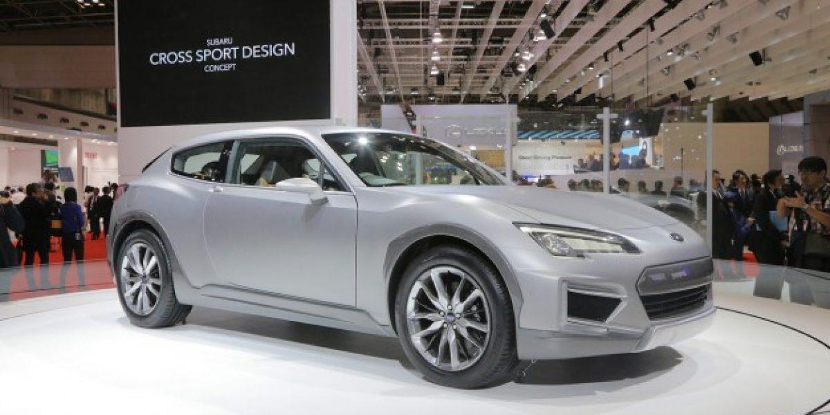 El deportivo Subaru Cross Sport Design Concept
