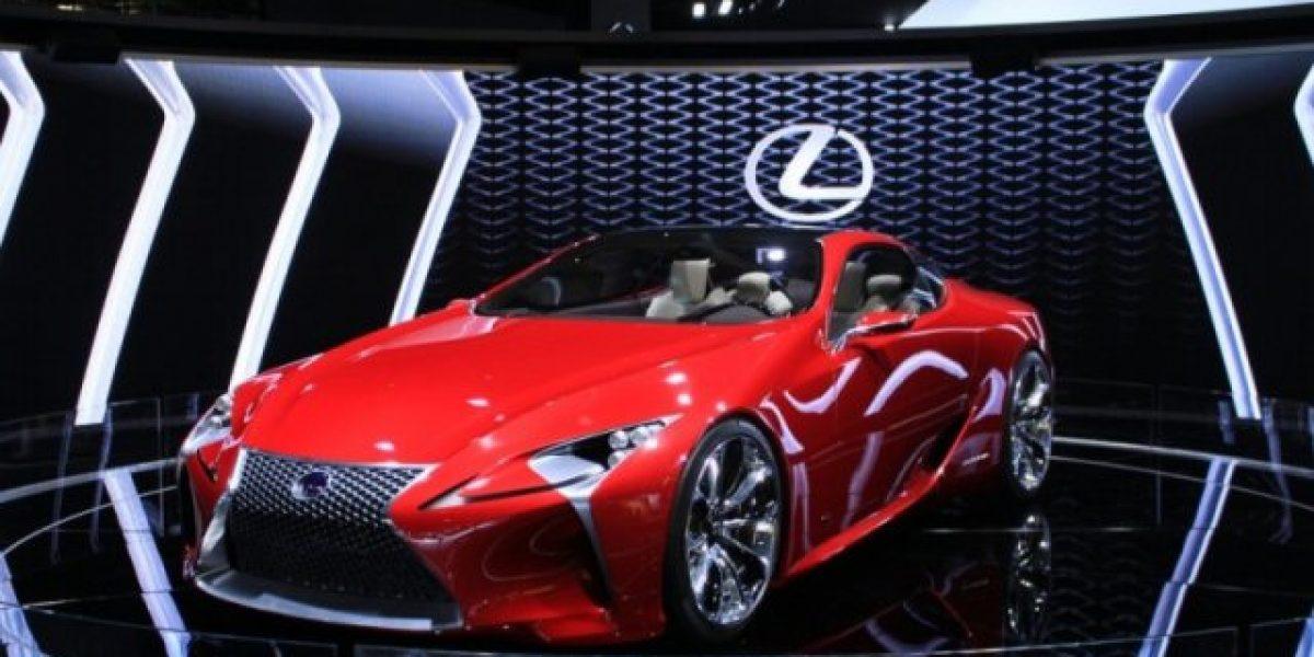 El lujoso Lexus LF-LC en Los Ángeles