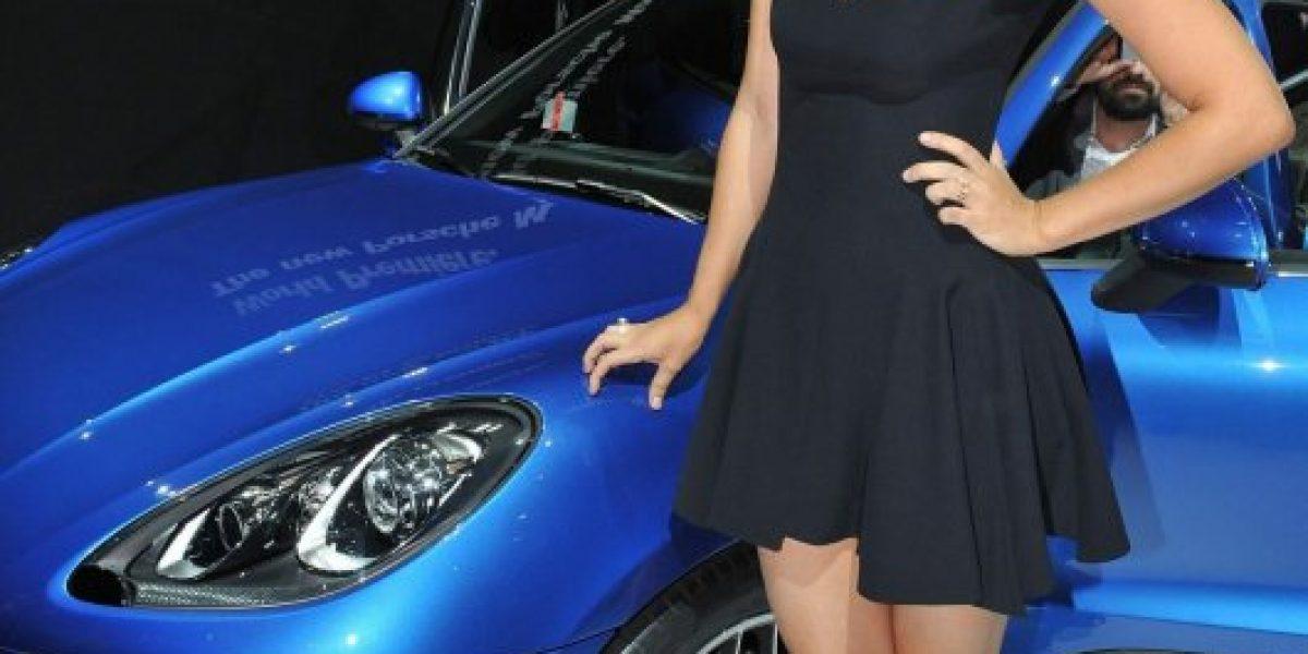 La bella Maria Sharapova presentó el nuevo Porsche Macan en Los Ángeles