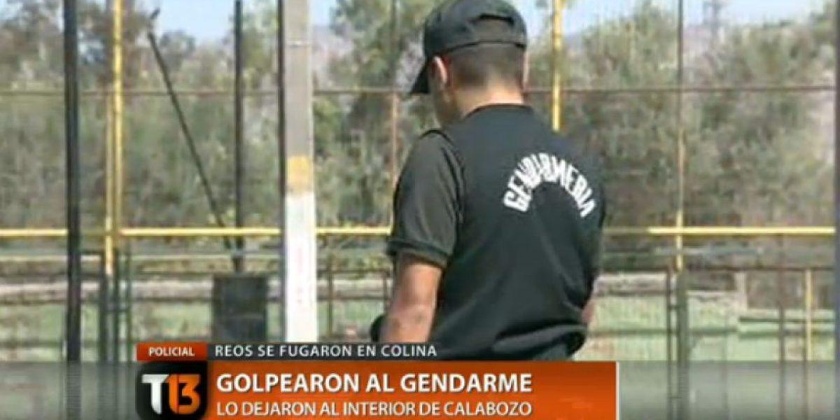 Amplio operativo: Tres reos de la cárcel de Colina se fugan desde el tribunal