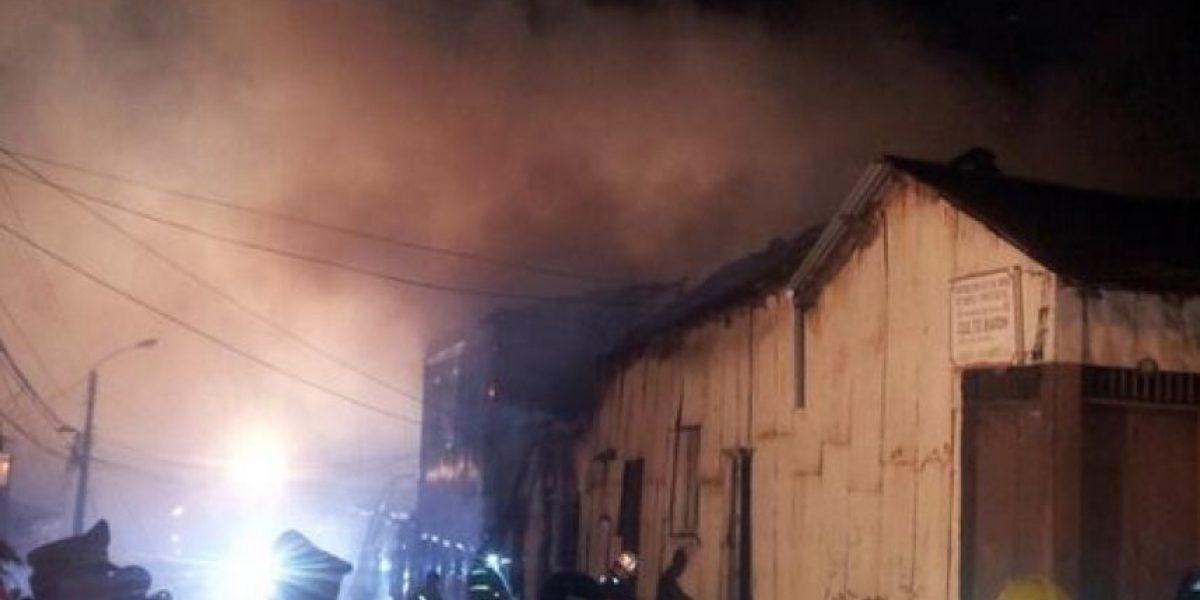 FOTOS: Un nuevo incendio se registró en el cerro Barón de Valparaíso
