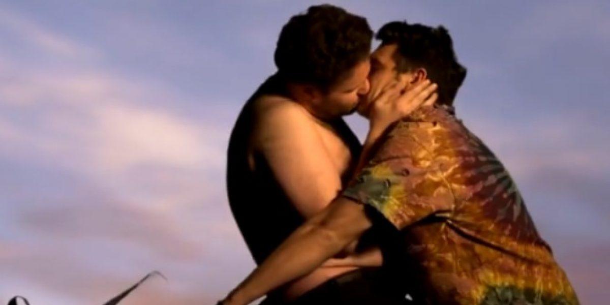 James Franco y Seth Rogen parodian a Kanye y Kim en