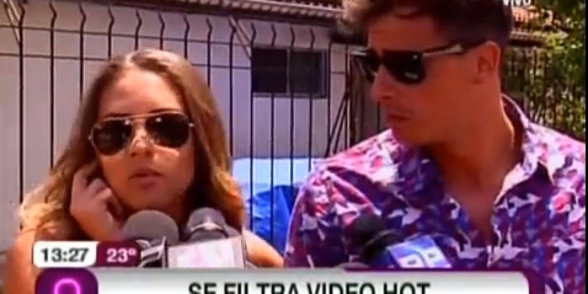 Connie Mengotti desmiente que sea ella la de video hot