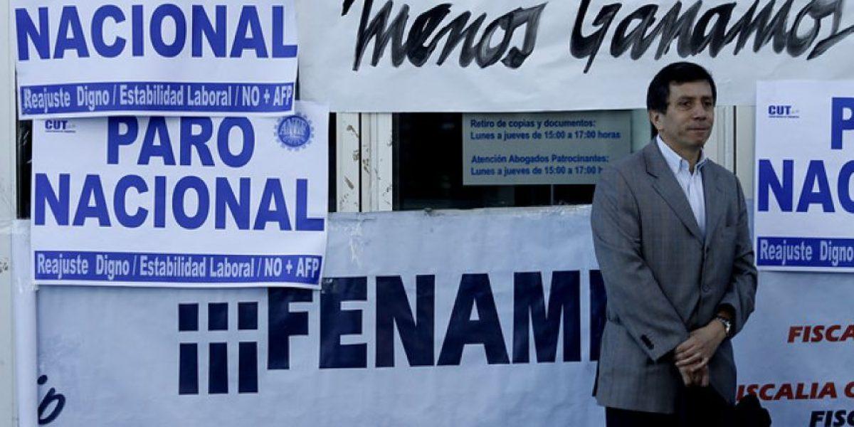 FOTOS: ANEF respalda a funcionarios del Ministerio Público en segundo día de paro