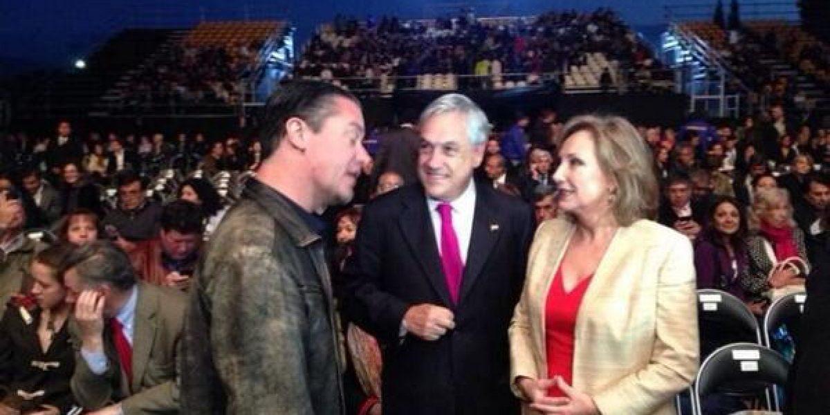 Así fue el encuentro Piñera-Patton en el Monticello
