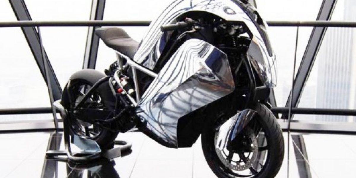 Así es la primera motocicleta deportiva eléctrica