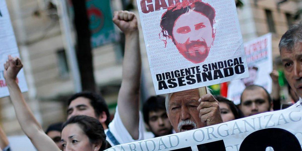[FOTOS] Miles de personas marcharon junto a viuda de sindicalista Juan Pablo Jiménez