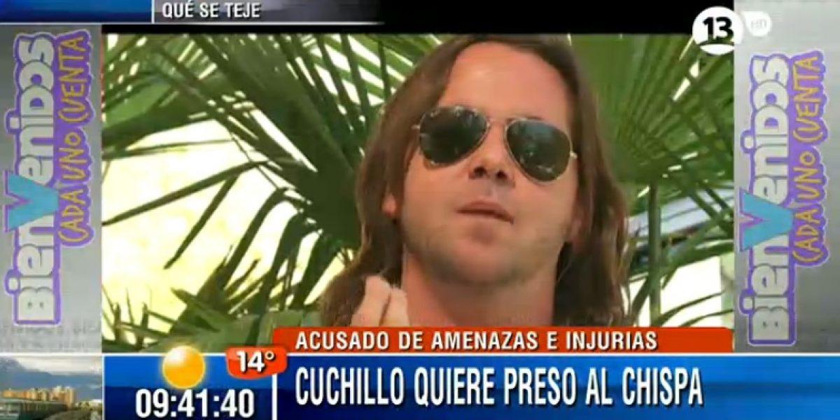 Sebastián Eyzaguirre quiere a Chispa en la cárcel