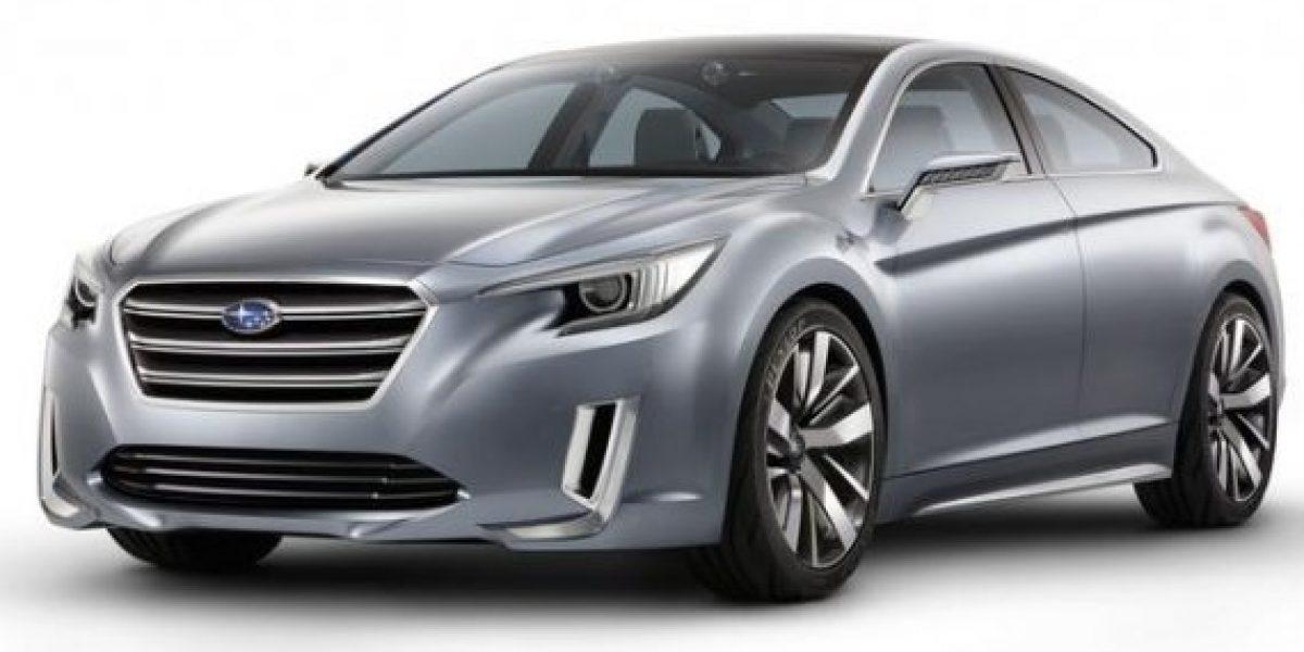 El nuevo y lujoso Subaru Legacy Concept