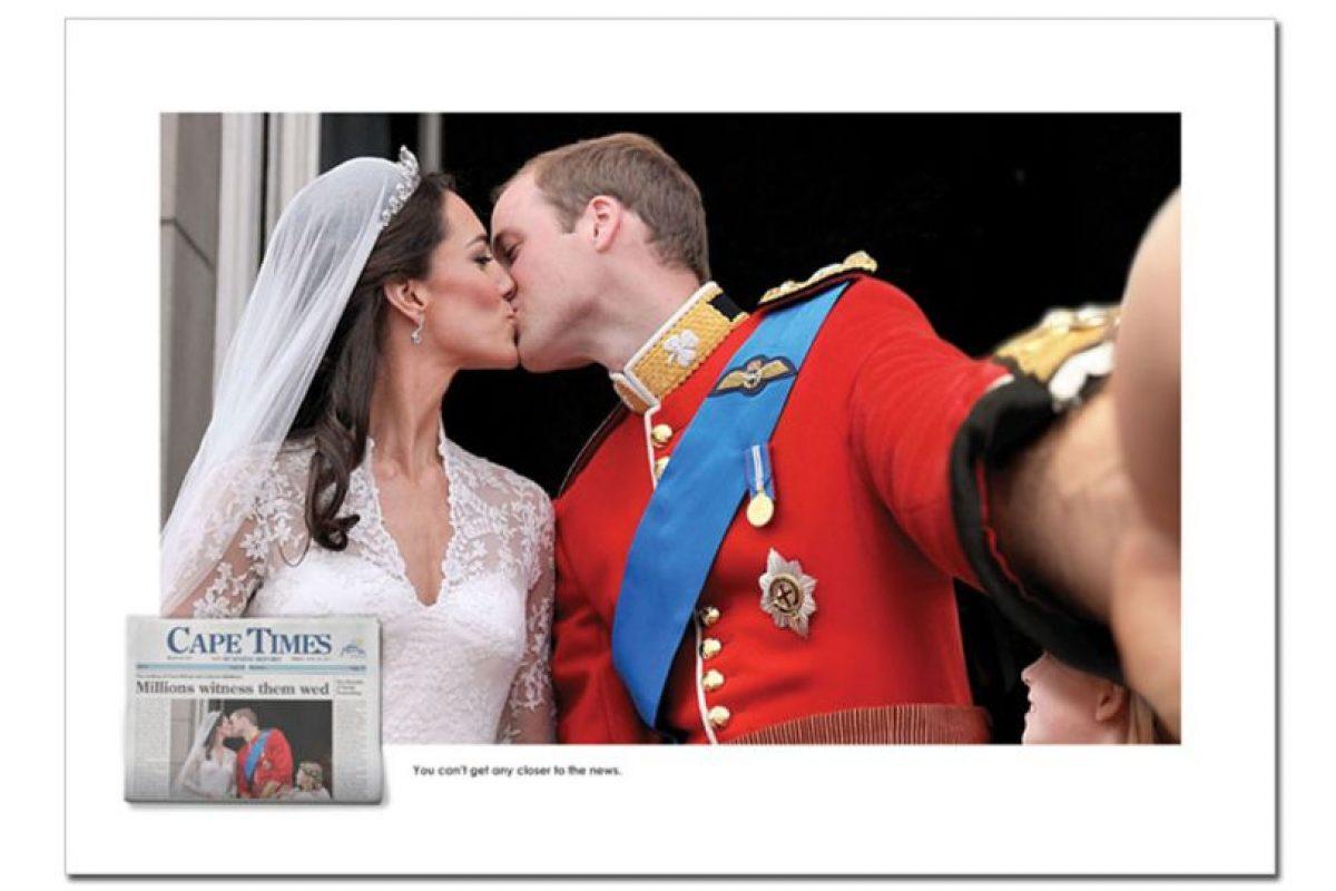 Kate Middleton y el Príncipe William. Imagen Por: