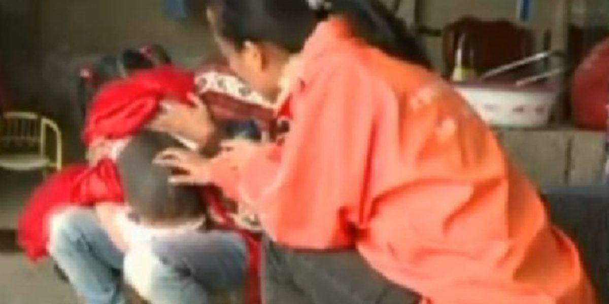 Médicos no hallan explicación a extraña mancha que presenta una niña china