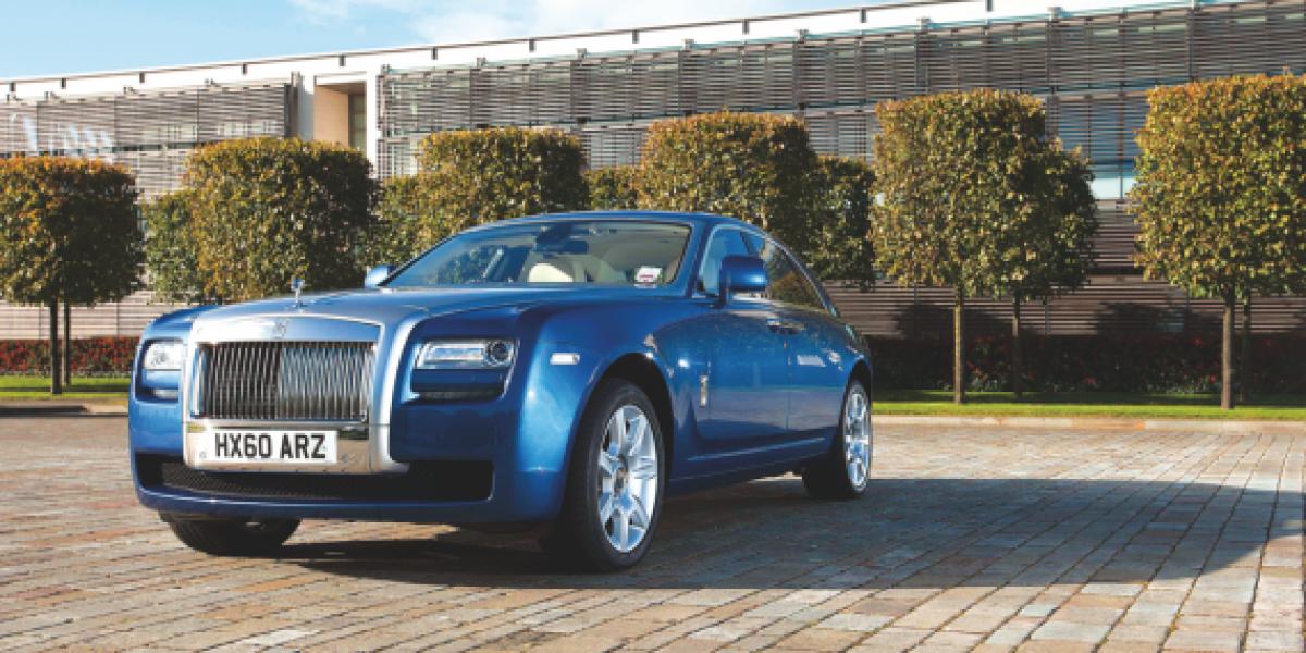Probamos al espectacular Rolls Royce Ghost