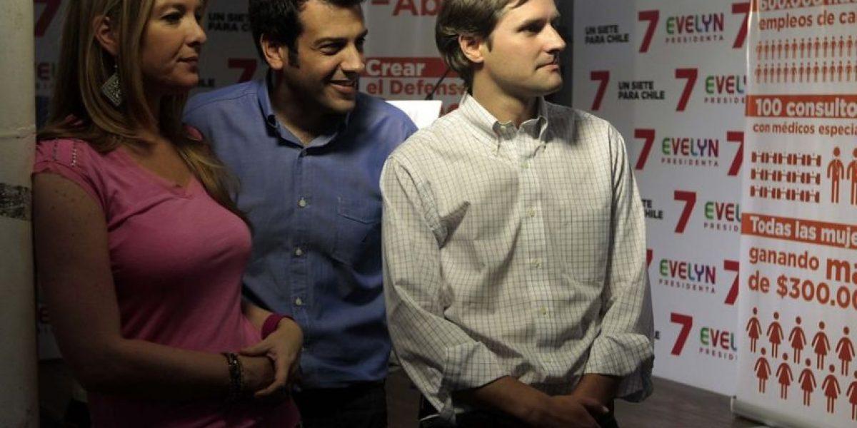 [FOTOS] Jóvenes del comando de Matthei adelantan franja mientras candidata sigue enferma