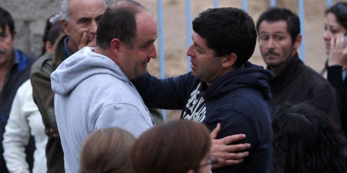 [FOTOS] Un abatido Javier Margas en el lugar del fatal accidente de su hijo