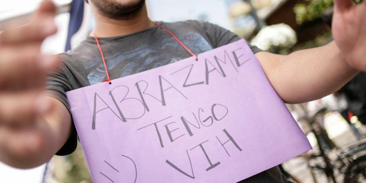 Fotos: Así se vive el día mundial del VIH en Chile