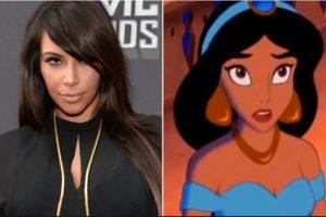 "Foto:Kim Kardashian: Princesa Jasmine (""Aladdin"") Foto: popcrush.com. Imagen Por:"