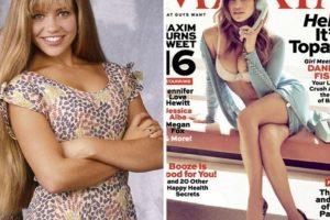 Foto:Danielle Fishel, antes y después Foto: toofab.com. Imagen Por:
