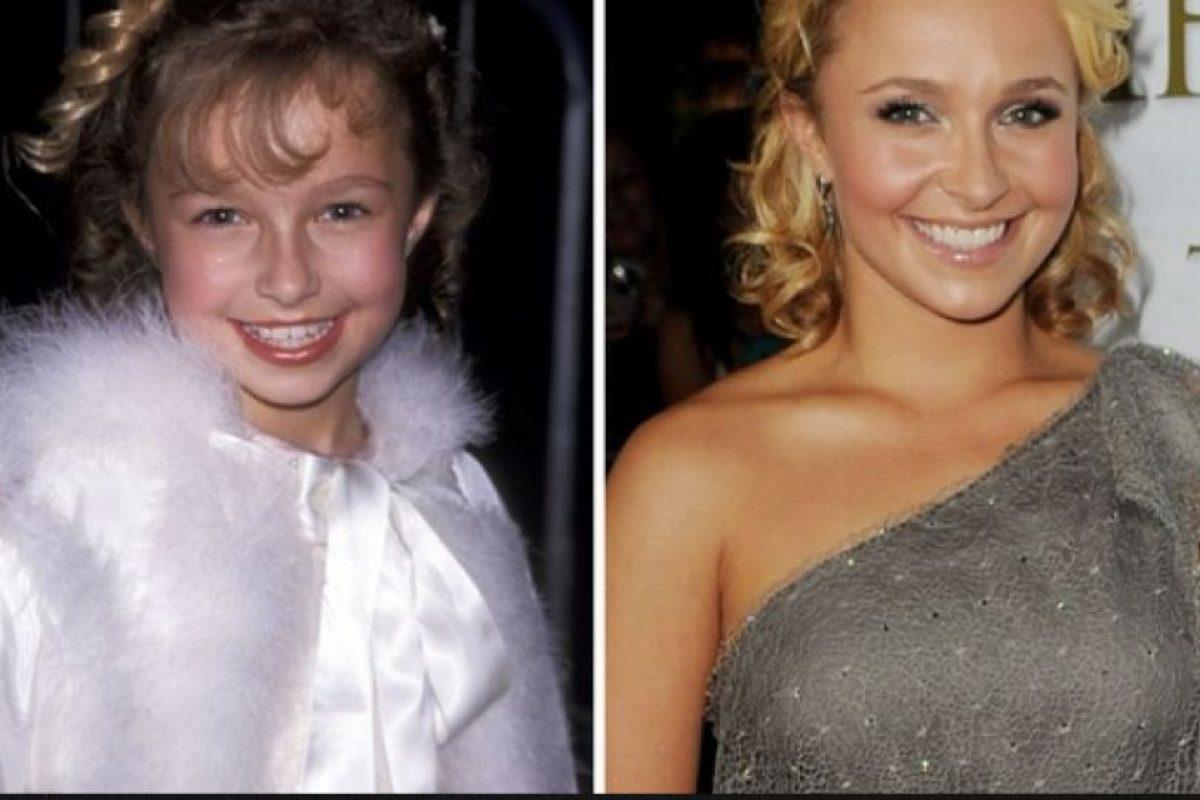 Foto:Hayden Panettiere, antes y después Foto: toofab.com. Imagen Por: