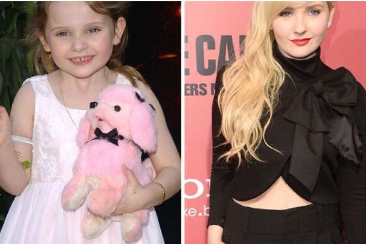 Foto:Abigail Breslin, antes y después Foto: toofab.com. Imagen Por: