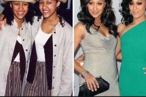 Foto:Tia y Tamera Mowry, antes y después Foto: toofab.com. Imagen Por: