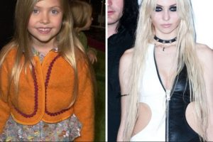 Foto:Taylor Momsen, antes y después Foto: toofab.com. Imagen Por: