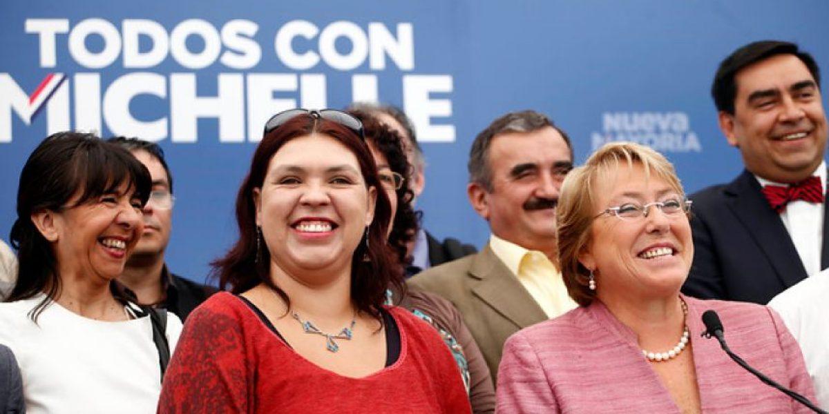 FOTOS: Michelle Bachelet recibe respaldo de la CUT