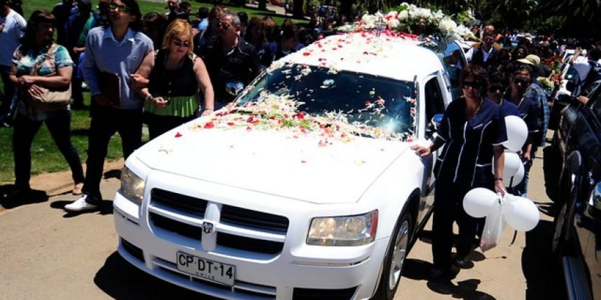 GALERIA: Así fue el funeral del hijo de Javier Margas