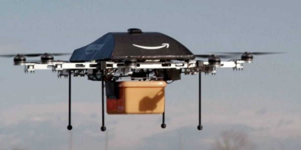 Video: así entregará Amazon los pedidos a domicilio... con aparatos voladores