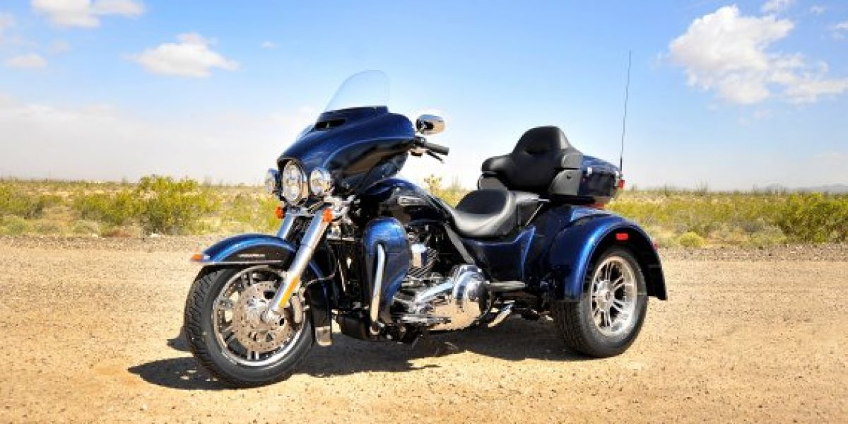 $26 millones cuesta la Harley-Davidson® de tres ruedas que llegó a Chile