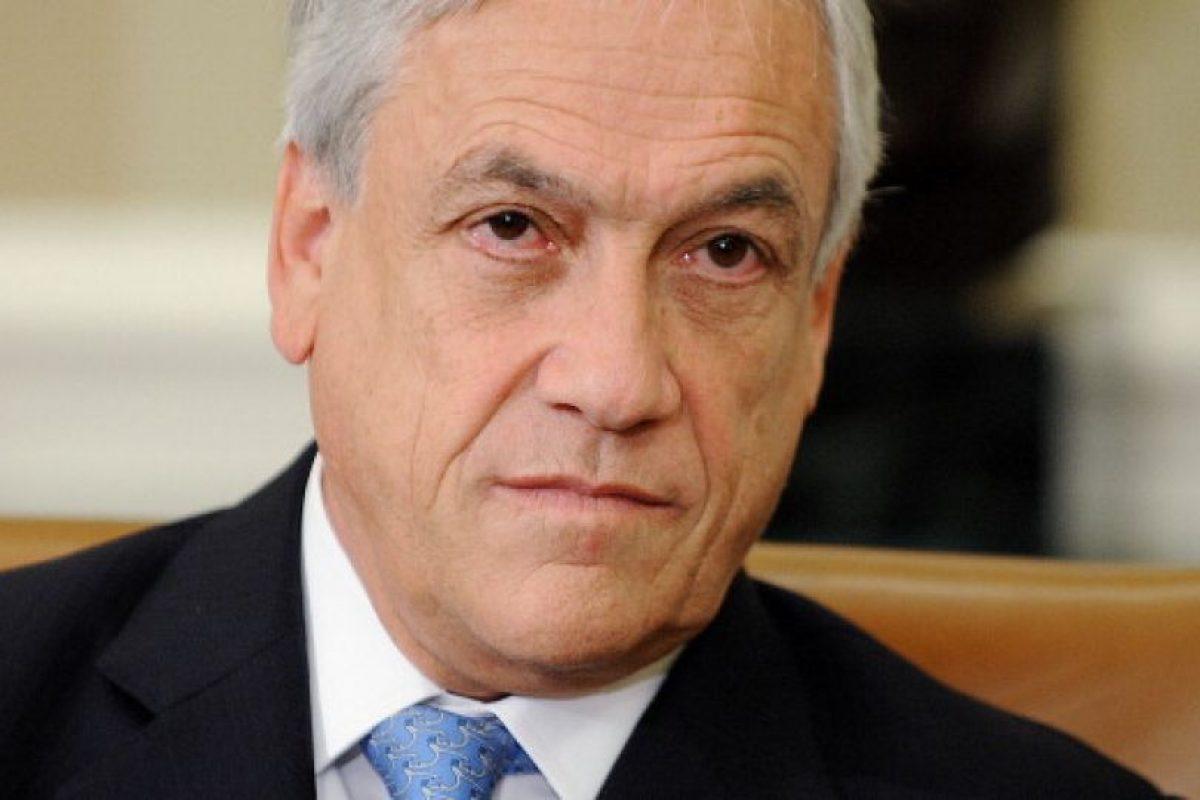 Sebastián Piñera, presidente de Chile: se le contabiliza un patrimonio estimado de u$s2,5 billones. El ingreso per cápita en el país es de u$15.000 Foto:Getty Images. Imagen Por: