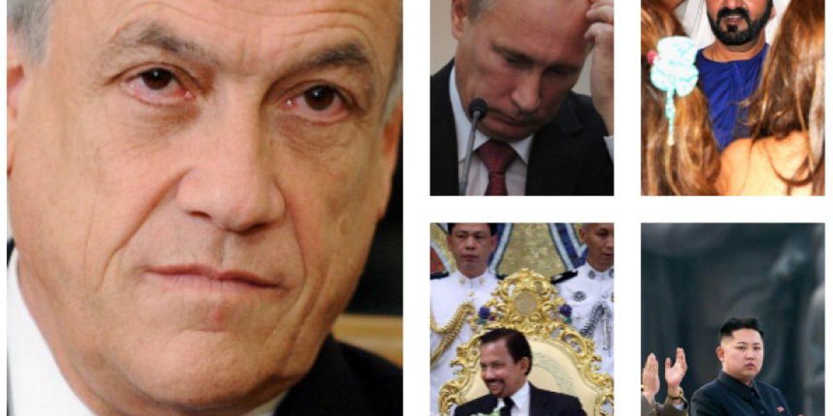 Presidente Piñera cierra ranking de los 10 líderes mundiales más ricos