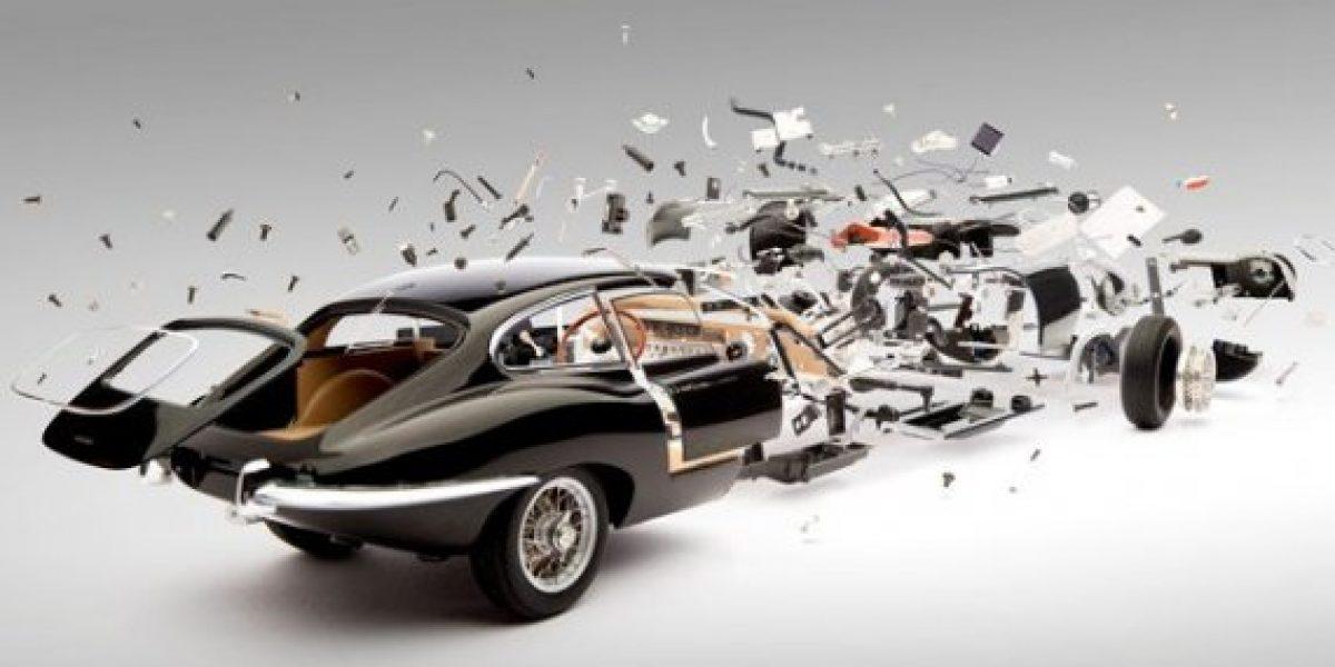 La obra de arte que desintegra a los autos
