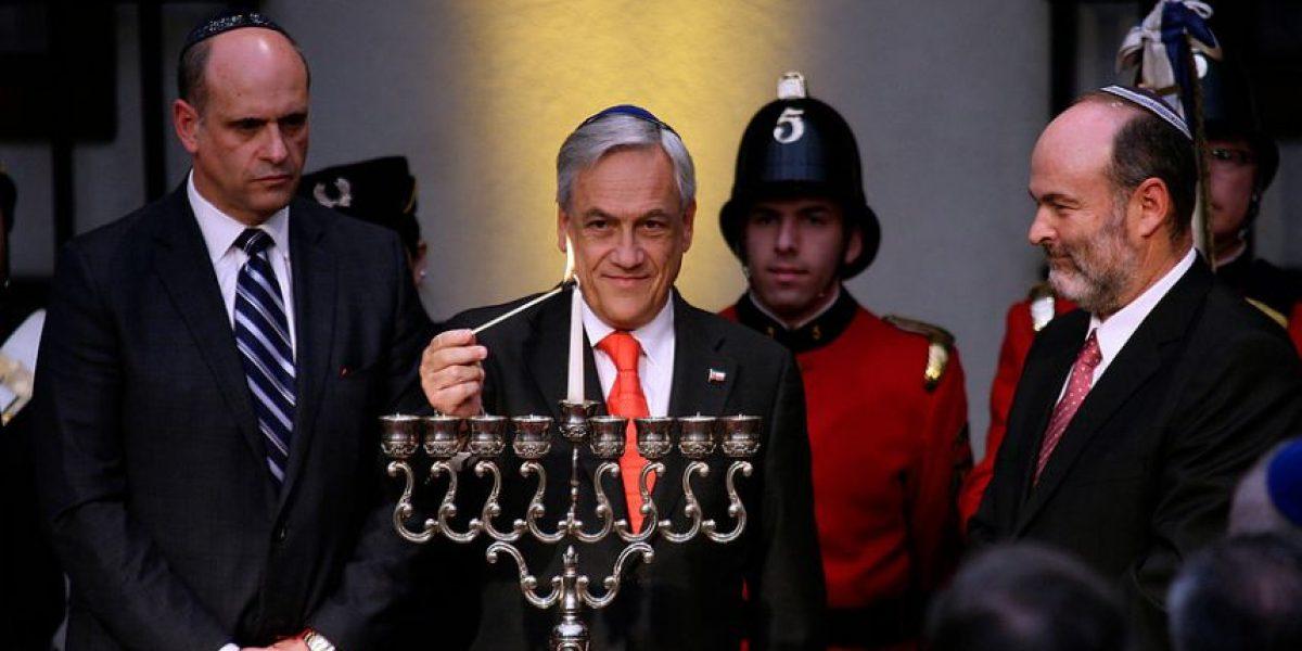 [FOTOS] Presidente Piñera encabezó celebración de tradicional festividad judía