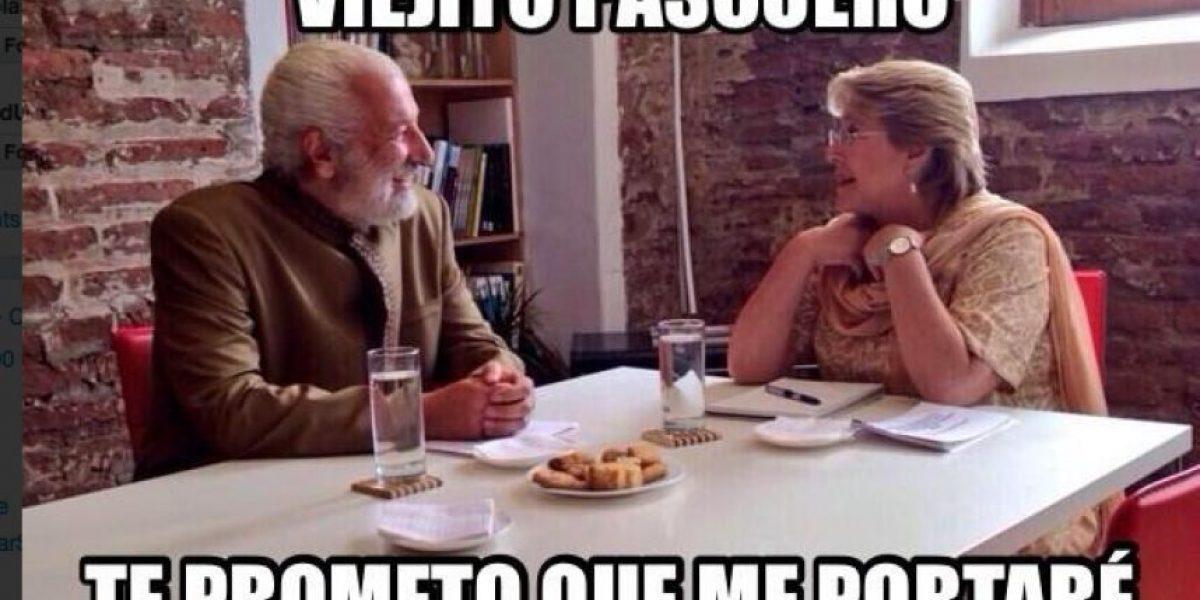 Sin piedad: los memes a propósito del apoyo de Sfeir a Bachelet